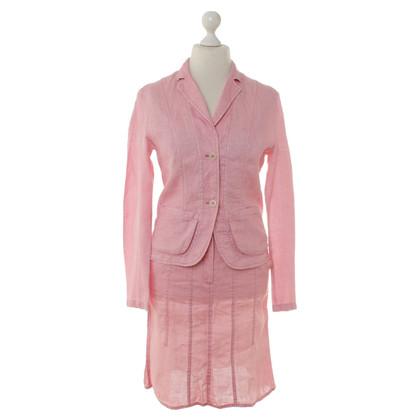 Marc Cain Pink linen costume