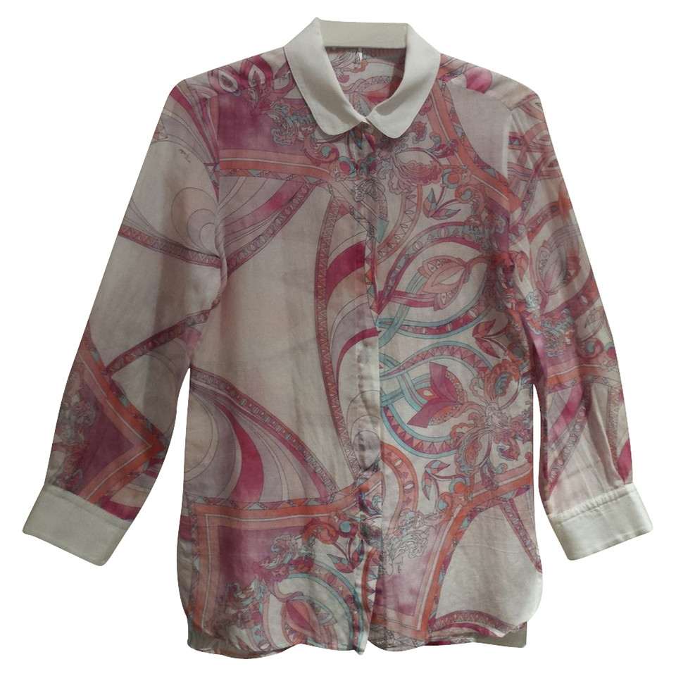 Emilio Pucci Blouse with PUCCI print