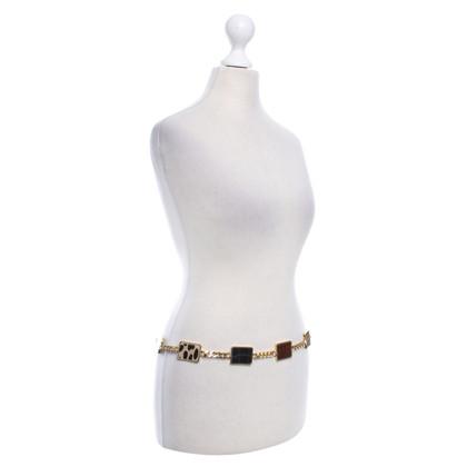 Escada Gold colored chain belt