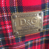 Dolce & Gabbana Jacket with check pattern