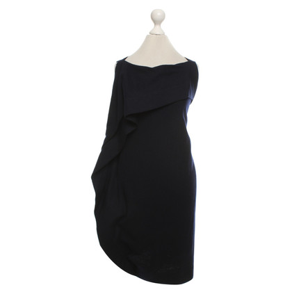 Bottega Veneta Wool dress in dark blue