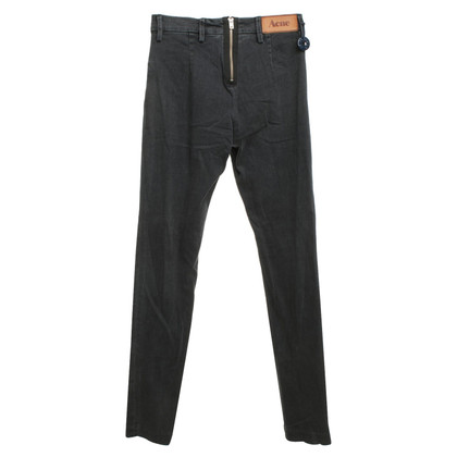 Acne Jeans in dark gray