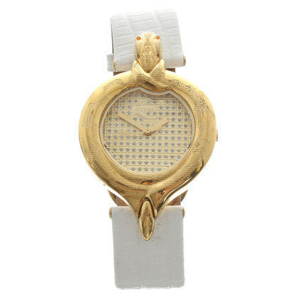Just Cavalli Watch with Golden reptiles-detail