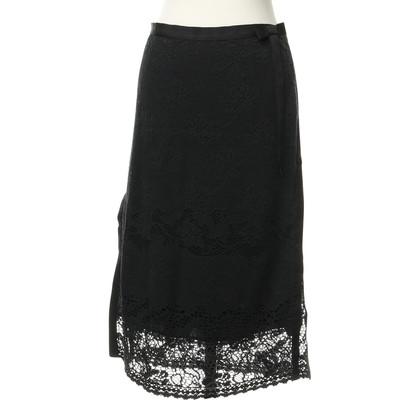 D&G skirt crochet lace