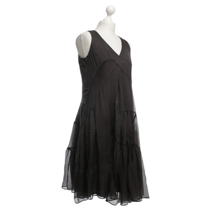 Hugo Boss Seidenchiffonkleid