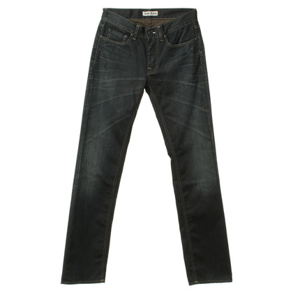 Acne Jeans in donkerblauw