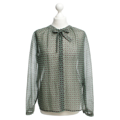 Odeeh Blouse with flower pattern