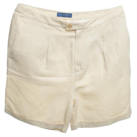 Strenesse Blue Shorts in Beige Beige