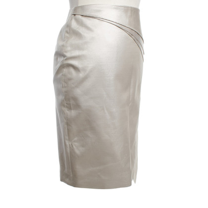 Karen Millen Rock in metallic look