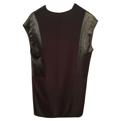 Sandro Glitter dress in khaki