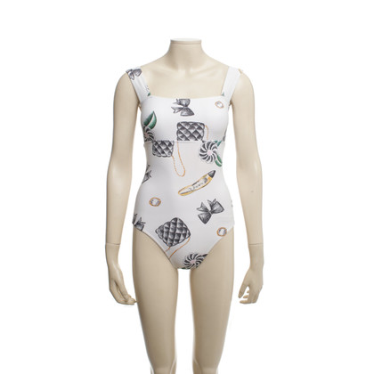 Chanel Swimsuit with print motif