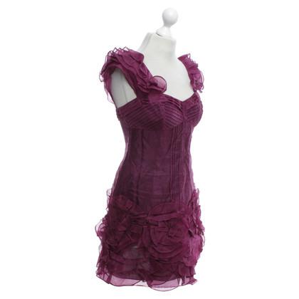 Karen Millen Kleid in Fuchsia