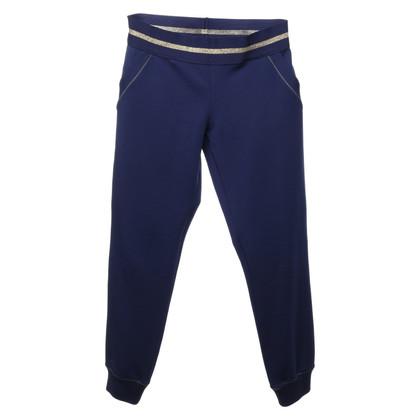 Patrizia Pepe trousers in dark blue