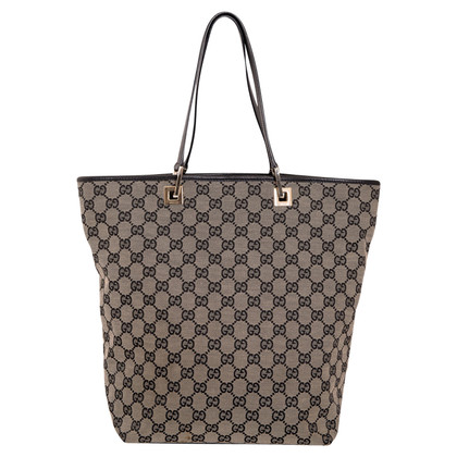Gucci Shopper made of cast iron of Supreme canvas