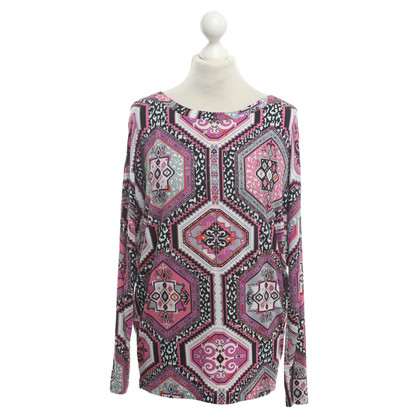 Emilio Pucci Multicolored top with print