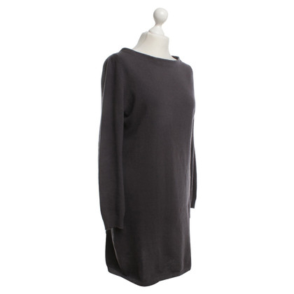 Hemisphere Cashmere Dress in Taupe