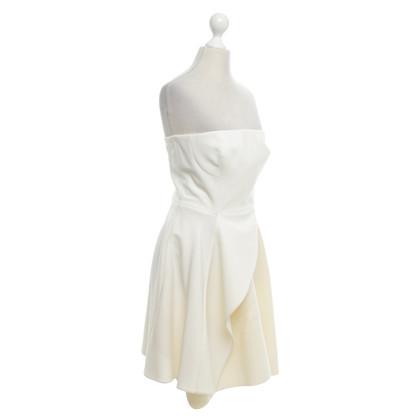 Stella McCartney Corsagenkleid in crema