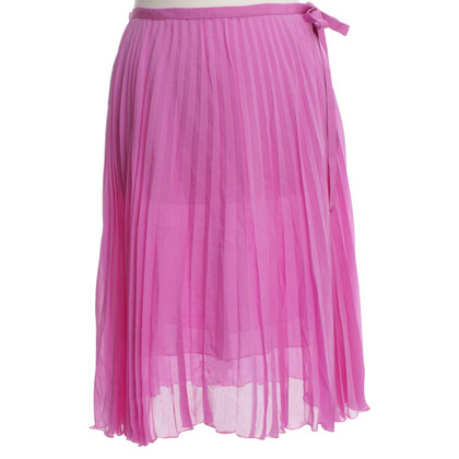 Schumacher Pleated-skirt made of silk