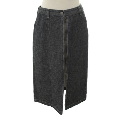 Comptoir des Cotonniers Denim skirt with zipper