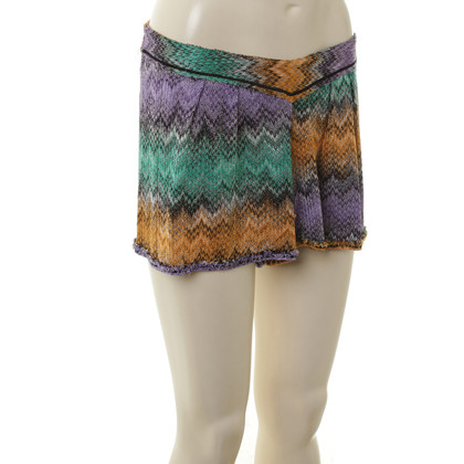 Missoni Knit shorts with pattern