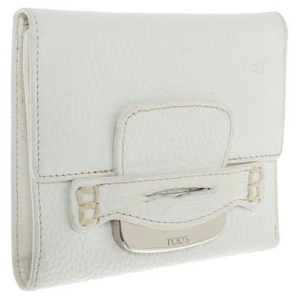 Tod's Wallet in white