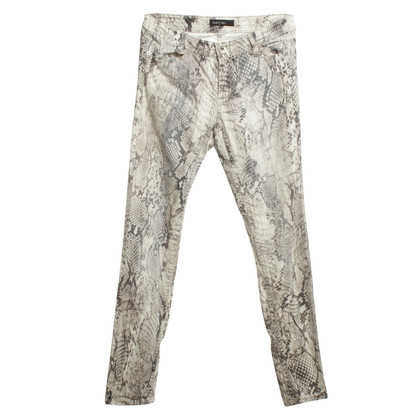 Marc Cain Trousers with print motif