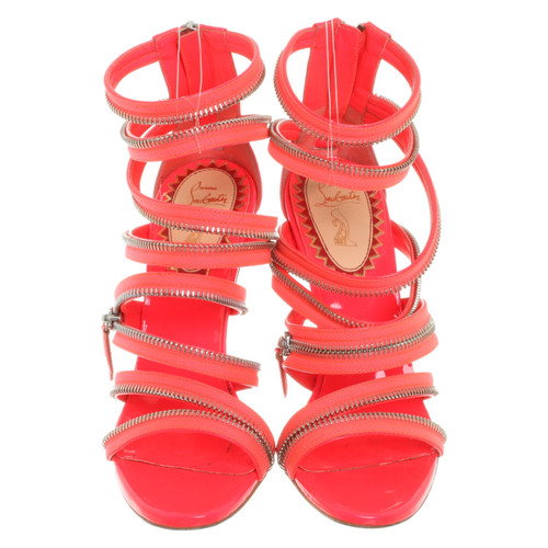 e5e880e0424 Christian Louboutin Pink sandals - Second Hand Christian Louboutin ...