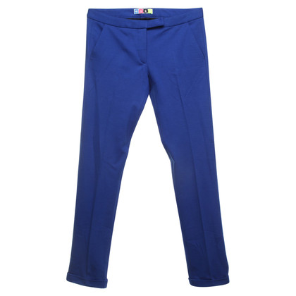 MSGM Pantaloni in Blue