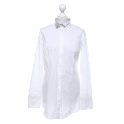 Brunello Cucinelli Blouse in White / grey