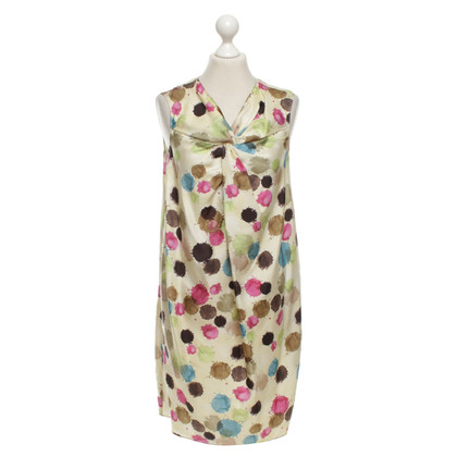 Moschino Cheap and Chic Abito in seta in multicolor