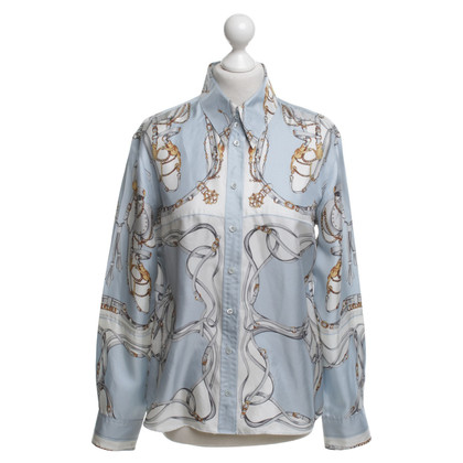 Strenesse Silk blouse with motif