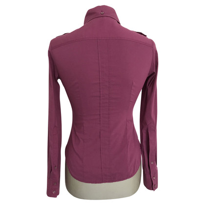 Pinko blouse with shawl collar