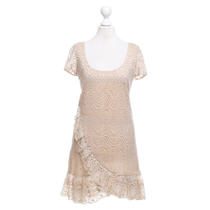 Red Valentino Lace dress in beige