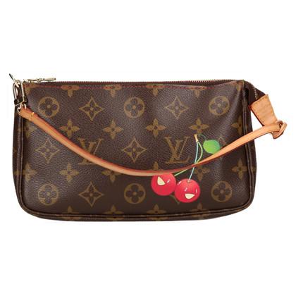 """Louis Vuitton """"Pochette Accessories Monogram Cerises"""""""