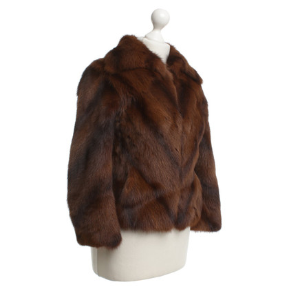 JOOP! Fur jacket in brown tan