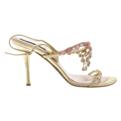 Sergio Rossi Sandals with gemstones