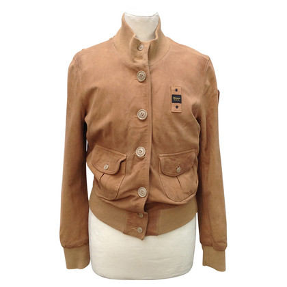 Blauer USA Veste daim marron clair
