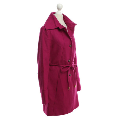 Patrizia Pepe Coat in fuchsia