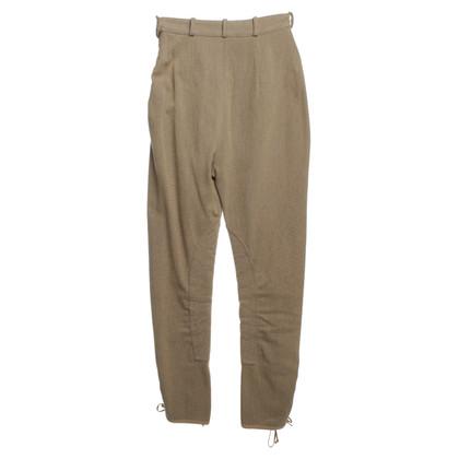 Hermès Rider's trousers in beige / ocher