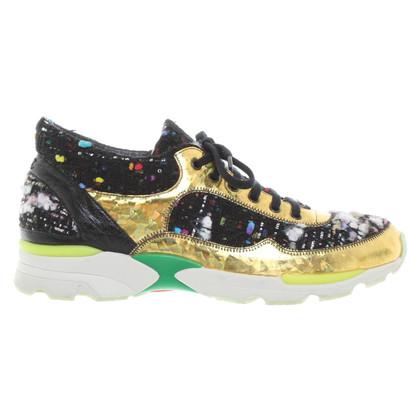Chanel Kleurrijke sneakers