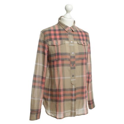 Burberry Shirt with Plaid