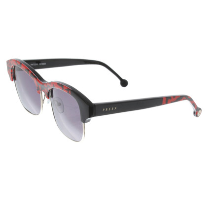 Preen Sunglasses with print