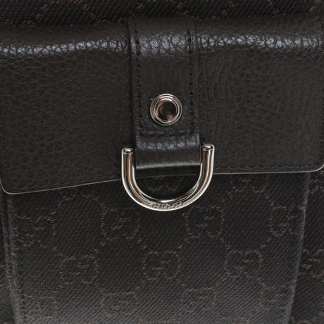 Gucci Shopper in Dunkelbraun Braun Mit Kreditkarte yAnYLuXYCJ