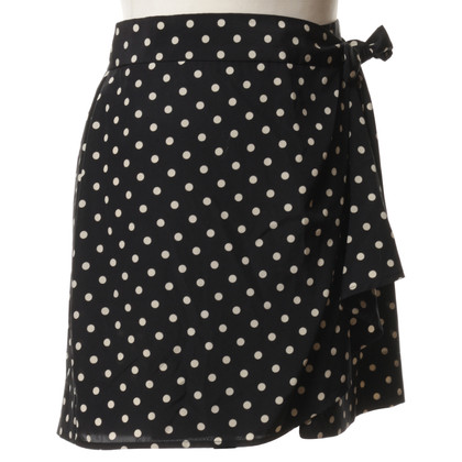Moschino Cheap and Chic Wrap-around skirt with points