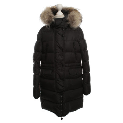 Moncler Down coat with fur collar