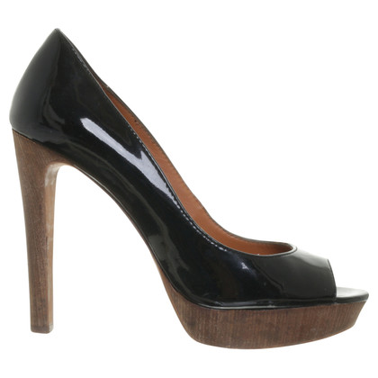 Ash Peep toe in vernice
