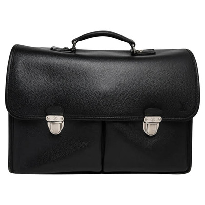 Louis Vuitton Briefcase Taiga Leather