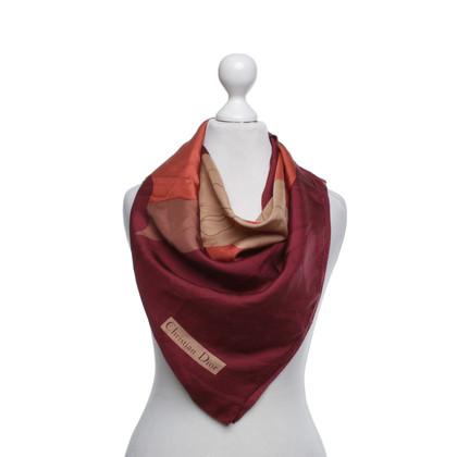Christian Dior Multicolor silk scarf
