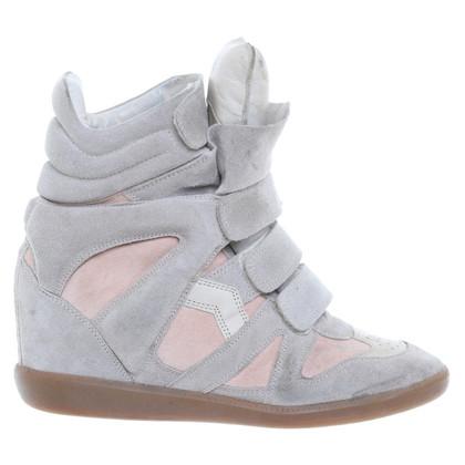 Isabel Marant Keil-Sneakers aus Wildleder