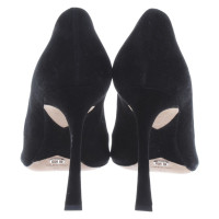 Christian Dior Peep-toes suede